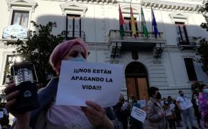 Concentración este miércoles a las puertas de la Plaza del Carmen.
