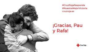 Rafa Nadal y Pau Gasol abanderan una campaña de apoyo.