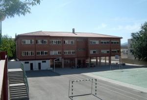 Colegio El Olivarillo, en Padul.