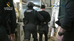 En la operación han sido detenidas 18 personas, diez de ellas en Granada.