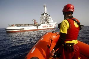 La ONG trabajará en coordinación con Salvamento Marítimo.