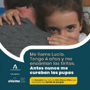 Uno de los carteles de la campaña.