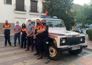 El municipio ha entregado nuevos uniformes y mascarillas al voluntariado.