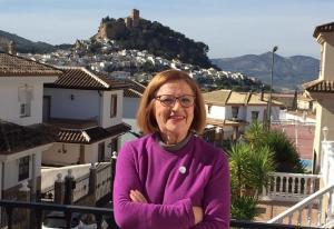 Marisol Vílchez Carralcázar, vecina de Montefrío que investiga el origen del apellido Carralcázar.