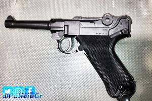 Imagen de la pistola de aire comprimido.
