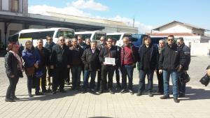 Representantes de las plataformas por el tren llaman a la movilización el domingo.