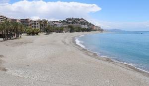 Playa Puerta del Mar.