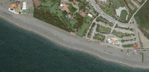 Zona de Playa Granada donde se ubica el espacio sin humo.