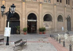 La sustitución de luminarias también se ha llevado a cabo en Plaza de Toros.