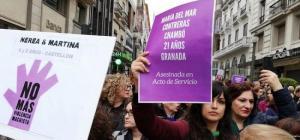 Imagen del último 25N en Granada.