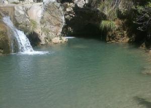 Una de las pozas de Río Verde.