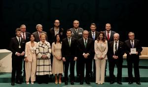 Pablo Heras-Casado ha recibido este jueves la Medalla de Andalucía.