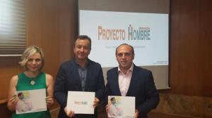 Presentación de la Memoria de Proyecto Hombre en Granada.