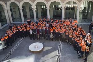 Encuentro celebrado en la Delegación del Gobierno andaluz.