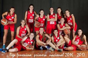 Equipo de baloncesto RACA-UGR.
