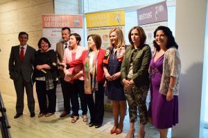 Las consejeras de Medio Ambiente y Salud, este lunes en Granada.