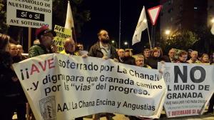 Imagen de una de las concentraciones celebradas este mes de noviembre.
