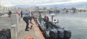 El Servicio Marítimo de la Guardia Civil los trasladó al Puerto de Motril.