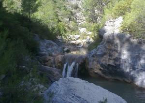 Uno de los parajes de río Verde.