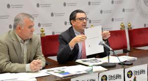 Carlos Ruiz Cosano (d), en una imagen de archivo.
