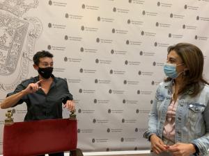 Raquel Ruz y Remedios Garrido, en la rueda de prensa de este martes.