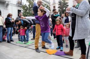 Las actividades se han desarrollado en la Plaza del Carmen.