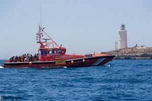 Embarcación de Salvamento Marítimo.
