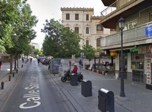 Vista de la calle San Juan de Dios.