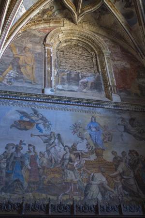 Uno de los edificios inspecciones ha sido el Monasterio de San Jerónimo.