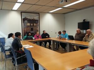 Reunión este miércoles de los vecinos con la delegada de Fomento y Vivienda.