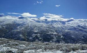 Vista de las cumbres de Sierra Nevada.