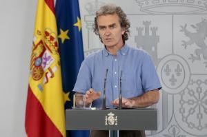 Fernando Simón, en una imagen de este jueves.