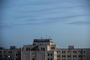 Espectacular imagen del perfil del Hospital Virgen de las Nieves.