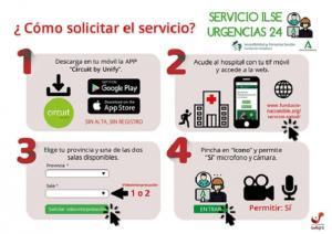 Guía para acceder al servicio.