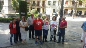 El colectivo Stop Desahucios 15M había hecho una llamada a la solidaridad para parar el desahucio.