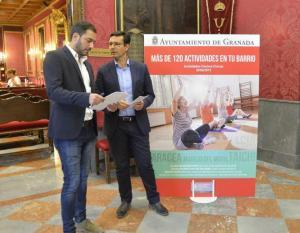 Presentación de las actividades en los centros cívicos.