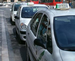 Taxis en Granada.
