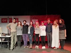 La obra de teatro 'Nuestros Derechos' se representó en el Centro Cívico del Zaidín.