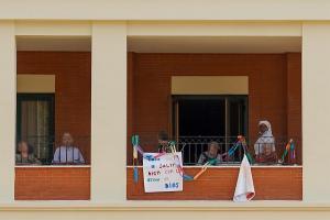 Imagen de una residencia tomada el pasado 2 de mayo.