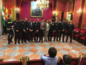 Acto de toma de posesión de los nuevos mandos del Cuerpo de Bomberos.