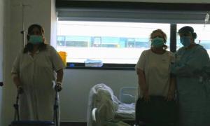 Sesiones de fisioterapia durante la hospitalización.