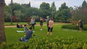 Las actividades se realizan en parques, jardines y plazas de la capital.