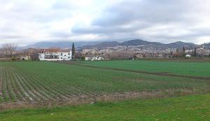Vista de la Vega de Granada