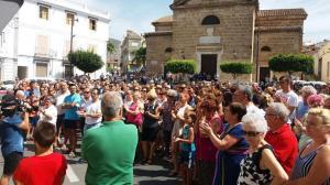 Concurrido acto de homenaje a Francisco Pedrosa en Vélez de Benaudalla.