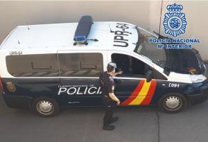 Vehículo policial.