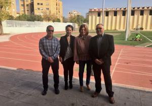 Visita a las instalaciones del Estadio de la Juventud.