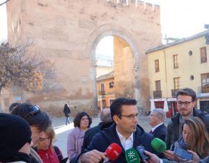 El Arco de Elvira es uno de los monumentos vigilados.
