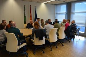 Reunión de los municipios con la Junta.