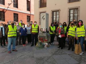 Homenaje a Beriain y Fraile con motivo del Día Mundial de Libertad de Prensa.