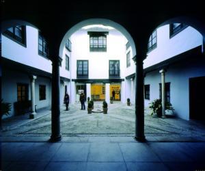 Interior de la Casa de los Tiros.